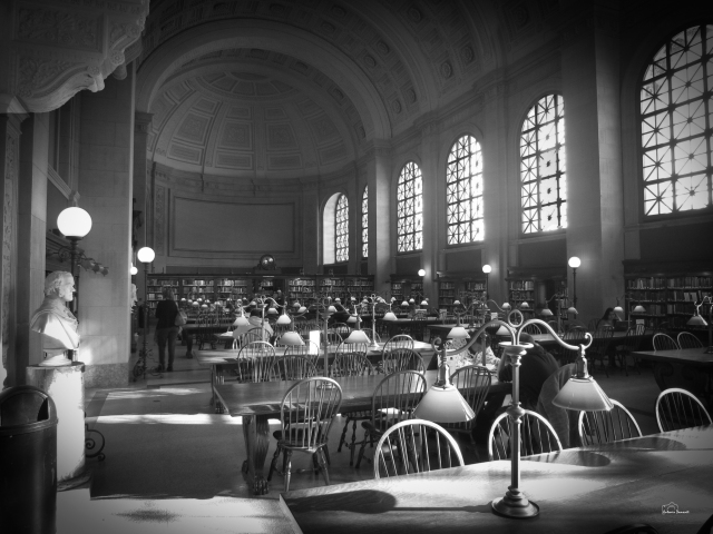 The Library in Boston